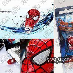 USB Comics Spiderman Ecuador Comprar Venden, Bonita Apariencia perfecto para trabajos, practica, Hermoso material de plástico Color rojo Estado nuevo