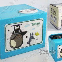 Alcancia Anime Mi Vecino Totoro Comprar Venden, Bonita Apariencia perfecta para los fans, practica, Hermoso material plástico Color como en la imagen Estado nuevo