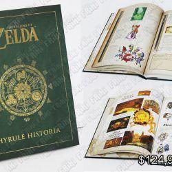 Libro Videojuegos The Legend of Zelda Hyrule Historia Ecuador Comprar Venden, Bonita Apariencia ideal para los fans, practica, Hermoso material de papel Color como en la imagen Estado nuevo