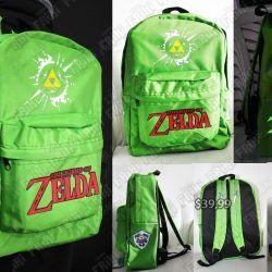 Mochila Videojuegos The Legend of Zelda Logo Ecuador Comprar Venden, Bonita Apariencia ideal para los fans, practica, Hermoso material de polipropileno Color como en la imagen Estado nuevo