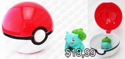 Réplica Videojuegos Pokémon Pokeball con Bulbasaur Ecuador Comprar Venden, Bonita Apariencia ideal para los fans, practica, Hermoso material de poliéster Color como en la imagen Estado nuevo