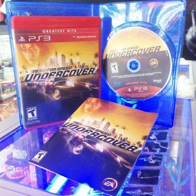 Videojuegos para consola PS3 Need for Speed: Undercover Ecuador Comprar Venden, Bonita Apariencia ideal para los fans, practica, Hermoso material de papel Color como en la imagen Estado usado