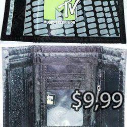 Billetera Varios MTV Ecuador Comprar Venden, Bonita Apariencia perfecta para los fans, practica, Hermoso material de cuerina Color como en la foto Estado nuevo