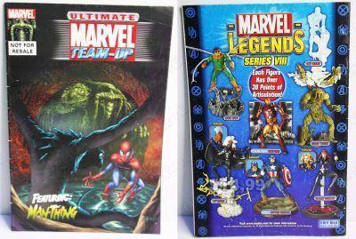 Cómics impresos Marvel Cómics Ultimate Marvel Team-Up: Ft ManThing Ecuador Comprar Venden, Bonita Apariencia ideal para los fans, practica, Hermoso material de papel Color como en la imagen Estado usado