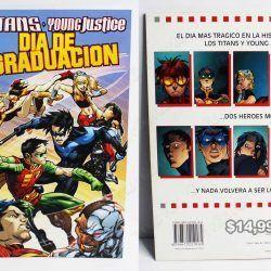 Cómics impresos DC Cómics Titans: Día de graduación Ecuador Comprar Venden, Bonita Apariencia ideal para los fans, practica, Hermoso material de papel Color como en la imagen Estado usado