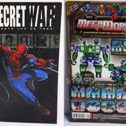 Cómics impresos Marvel Cómics Secret War: parte 1 de 3 Ecuador Comprar Venden, Bonita Apariencia ideal para los fans, practica, Hermoso material de papel Color como en la imagen Estado usado