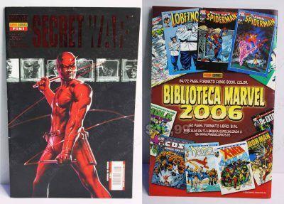Cómics impresos Marvel Cómics Secret War: 5 de 5 Ecuador Comprar Venden, Bonita Apariencia ideal para los fans, practica, Hermoso material de papel Color como en la imagen Estado usado