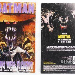 Cómics impresos DC Cómics Batman: Mientras vuela el cuervo Ecuador Comprar Venden, Bonita Apariencia ideal para los fans, practica, Hermoso material de papel Color como en la imagen Estado usado