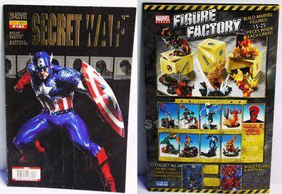 Cómics impresos Marvel Cómics Secret War: 3 de 5 Ecuador Comprar Venden, Bonita Apariencia ideal para los fans, practica, Hermoso material de papel Color como en la imagen Estado usado