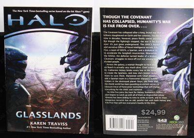 Libro Videojuegos Halo: Glasslands Ecuador Comprar Venden, Bonita Apariencia ideal para los fans, practica, Hermoso material de papel Color como en la imagen Estado usado