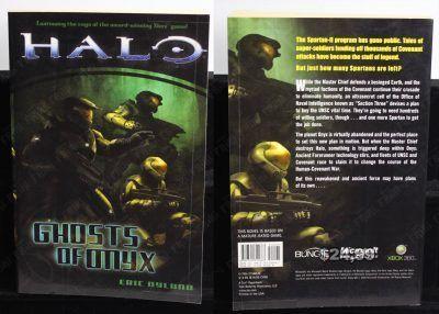 Libro Videojuegos Halo: Ghosts of Onyx Ecuador Comprar Venden, Bonita Apariencia ideal para los fans, practica, Hermoso material de papel Color como en la imagen Estado usado