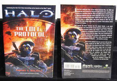 Libro Videojuegos Halo: The Cole Protocol Ecuador Comprar Venden, Bonita Apariencia ideal para los fans, practica, Hermoso material de papel Color como en la imagen Estado usado