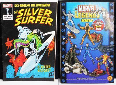 Cómics impresos Marvel Cómics The Silver Surfer Ecuador Comprar Venden, Bonita Apariencia ideal para los fans, practica, Hermoso material de papel Color como en la imagen Estado usado