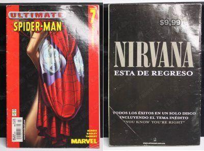 """Cómics impresos Marvel Cómics Spiderman: Tomo 7 """"Confesiones"""" Ecuador Comprar Venden, Bonita Apariencia ideal para los fans, practica, Hermoso material de papel Color como en la imagen Estado usado"""