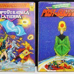 Cómics impresos DC Cómics Invasión Ecuador Comprar Venden, Bonita Apariencia ideal para los fans, practica, Hermoso material de papel Color como en la imagen Estado usado