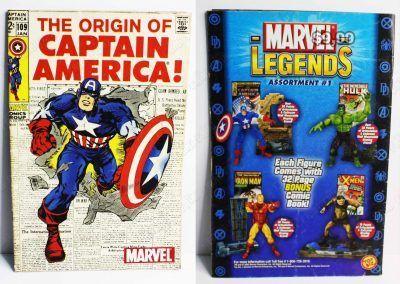 Cómics impresos Marvel Cómics The Origin of: Captain America Ecuador Comprar Venden, Bonita Apariencia ideal para los fans, practica, Hermoso material de papel Color como en la imagen Estado usado