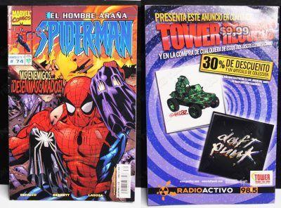 Cómics impresos Marvel Cómics Spiderman: Mis enemigos desenmascarados #74 Ecuador Comprar Venden, Bonita Apariencia ideal para los fans, practica, Hermoso material de papel Color como en la imagen Estado usado
