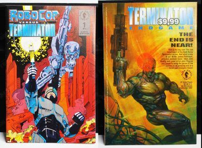 Cómics impresos Películas Robocop Vs Terminator Ecuador Comprar Venden, Bonita Apariencia ideal para los fans, practica, Hermoso material de papel Color como en la imagen Estado usado