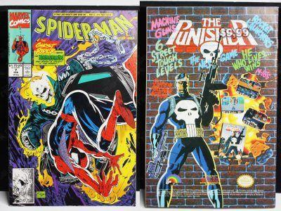 Cómics impresos Marvel Cómics Spiderman: The ghostrider, the hobgoblin Ecuador Comprar Venden, Bonita Apariencia ideal para los fans, practica, Hermoso material de papel Color como en la imagen Estado usado