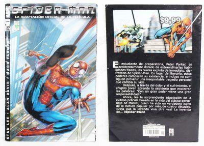 Cómics impresos Marvel Cómics Spiderman: La adaptación oficial de la película Ecuador Comprar Venden, Bonita Apariencia ideal para los fans, practica, Hermoso material de papel Color como en la imagen Estado usado