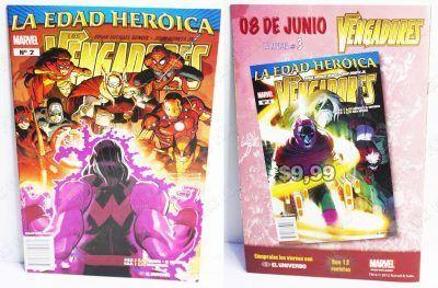 Cómics impresos Marvel Cómics Los Vengadores: La Edad Heróica 1 Ecuador Comprar Venden, Bonita Apariencia ideal para los fans, practica, Hermoso material de papel Color como en la imagen Estado usado