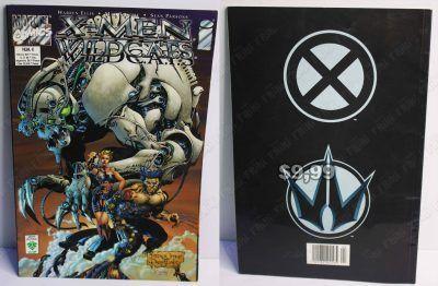 Cómics impresos Marvel Cómics X-Men Wildcats 4 Ecuador Comprar Venden, Bonita Apariencia ideal para los fans, practica, Hermoso material de papel Color como en la imagen Estado usado