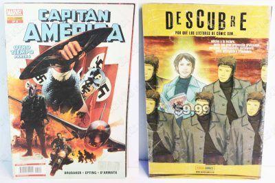 Cómics impresos Marvel Cómics Capitán América: Otro tiempo parte 6 Ecuador Comprar Venden, Bonita Apariencia ideal para los fans, practica, Hermoso material de papel Color como en la imagen Estado usado