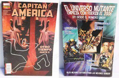 Cómics impresos Marvel Cómics Capitán América: Otro tiempo parte 2 Ecuador Comprar Venden, Bonita Apariencia ideal para los fans, practica, Hermoso material de papel Color como en la imagen Estado usado
