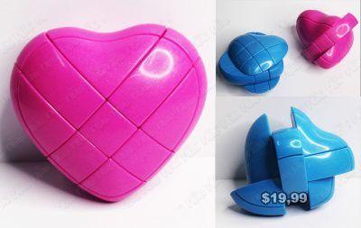 Cubo Rubik Varios Corazón rosa Ecuador Comprar Venden, Bonita Apariencia perfecta para los fanáticos, practica, Hermoso material plástico Color como en la imagen Estado nuevo