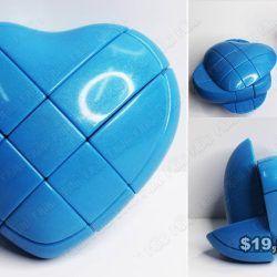 Cubo Rubik Varios Corazón azul Ecuador Comprar Venden, Bonita Apariencia perfecta para los fanáticos, practica, Hermoso material plástico Color como en la imagen Estado nuevo