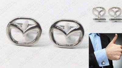 Gemelos Varios Logo Mazda Ecuador Comprar Venden, Bonita Apariencia ideal para lucirlo, practica, Hermoso material de bronce niquelado Color como en la imagen Estado nuevo