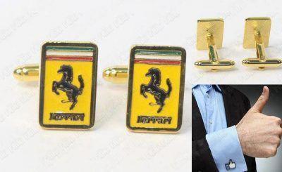 Gemelos Varios Logo Ferrari Ecuador Comprar Venden, Bonita Apariencia ideal para lucirlo, practica, Hermoso material de bronce niquelado Color como en la imagen Estado nuevo