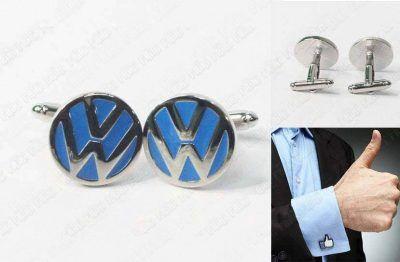 Gemelos Varios Logo Volkswagen Azul Ecuador Comprar Venden, Bonita Apariencia ideal para lucirlo, practica, Hermoso material de bronce niquelado Color como en la imagen Estado nuevo