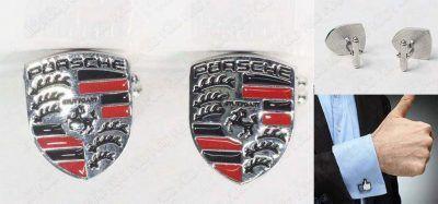 Gemelos Varios Logo Porsche Ecuador Comprar Venden, Bonita Apariencia ideal para lucirlo, practica, Hermoso material de bronce niquelado Color como en la imagen Estado nuevo