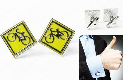 Gemelos Varios Señal de Ciclismo Ecuador Comprar Venden, Bonita Apariencia ideal para lucirlo, practica, Hermoso material de bronce niquelado Color como en la imagen Estado nuevo