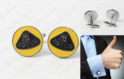 Gemelos Varios Logo Lotus Ecuador Comprar Venden, Bonita Apariencia ideal para lucirlo, practica, Hermoso material de bronce niquelado Color como en la imagen Estado nuevo