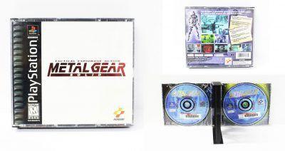 Videojuegos para consola PS1 Metalgear Ecuador Comprar Venden, Bonita Apariencia ideal para los fans, practica, Hermoso material de papel Color como en la imagen Estado usado