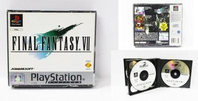 Videojuegos para consola PS1 Final Fantasy VII Ecuador Comprar Venden, Bonita Apariencia ideal para los fans, practica, Hermoso material de papel Color como en la imagen Estado usado