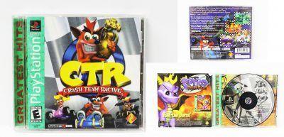 Videojuegos para consola PS1 Crash Team Racing Ecuador Comprar Venden, Bonita Apariencia ideal para los fans, practica, Hermoso material de papel Color como en la imagen Estado usado