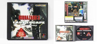 Videojuegos para consola PS1 Biohazard 3 Last Escape Ecuador Comprar Venden, Bonita Apariencia ideal para los fans, practica, Hermoso material de papel Color como en la imagen Estado usado