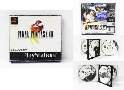 Videojuegos para consola PS1 Final Fantasy VIII Ecuador Comprar Venden, Bonita Apariencia ideal para los fans, practica, Hermoso material de papel Color como en la imagen Estado usado