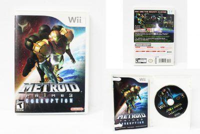 Videojuegos para consola Wii Metroid Prime 3 Corruption Ecuador Comprar Venden, Bonita Apariencia ideal para los fans, practica, Hermoso material de papel Color como en la imagen Estado usado