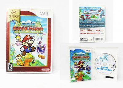 Videojuegos para consola Wii Super Paper Mario Ecuador Comprar Venden, Bonita Apariencia ideal para los fans, practica, Hermoso material de papel Color como en la imagen Estado usado
