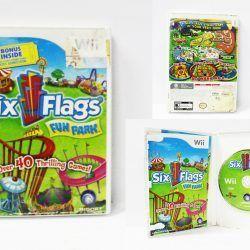 Videojuegos para consola Wii Six Flags Fun Park Ecuador Comprar Venden, Bonita Apariencia ideal para los fans, practica, Hermoso material de papel Color como en la imagen Estado usado