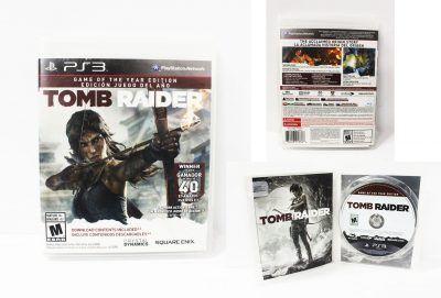 Videojuegos para consola PS3 Tomb Raider Ecuador Comprar Venden, Bonita Apariencia ideal para los fans, practica, Hermoso material de papel Color como en la imagen Estado usado