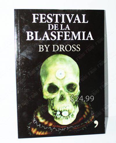 Libros Varios Festival de la Blasfemia by Dross Ecuador Comprar Venden, Bonita Apariencia ideal para los fans, practica, Hermoso material de papel Color como en la imagen Estado usado