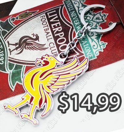 Llavero Varios Logo Liverpool Ecuador Comprar Venden, Bonita Apariencia ideal para los destacar, practica, Hermoso material de bronce niquelado Color como en la imagen Estado nuevo