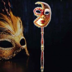 Máscara Varios Carnaval Rojo Ecuador Comprar Venden, Bonita Apariencia ideal para los fans, practica, Hermoso material plástico Color como en la imagen Estado nuevo