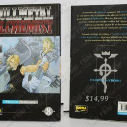 Comics impresos Manga Full Metal Alchemist 8 Ecuador Comprar Venden, Bonita Apariencia ideal para los fans, practica, Hermoso material de papel Color como en la imagen Estado usado