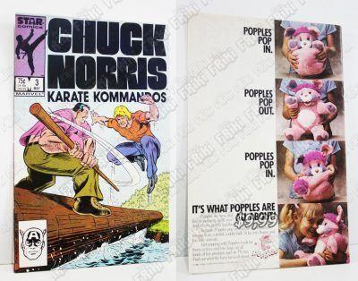 Cómics impresos Películas Chuck Norris Karate Comandos Ecuador Comprar Venden, Bonita Apariencia ideal para los fans, practica, Hermoso material de papel Color como en la imagen Estado usado